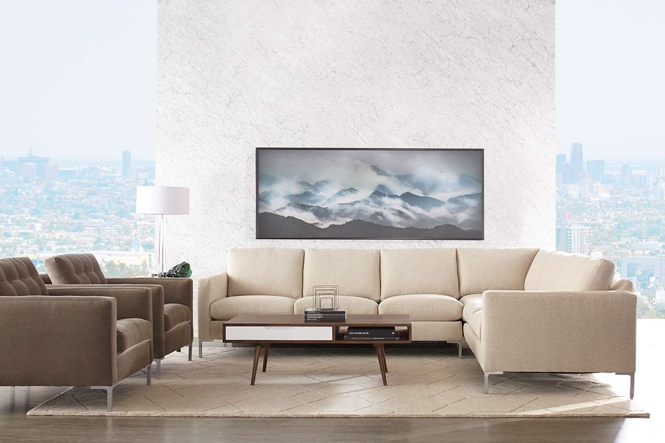 Modern Mix Sectional