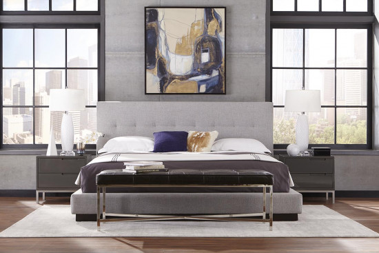 My Style Eastman Platform King Bed