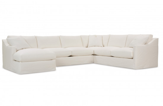 Bradford Slipcover Sectional Sofa