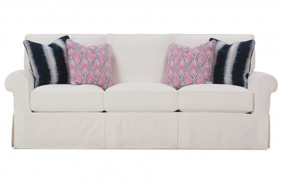 Easton Slipcover Sofa - Sofa Slipcovers, Ottoman Slipcovers, Sectional Slipcovers Rowe